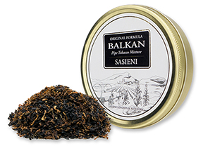 We Now Offer Balkan Sasieni Pipe Tobacco!