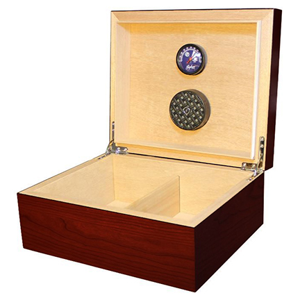 Brigham Equinox Cherry Finish Cigar Humidors