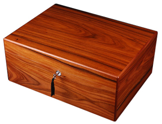Diamond Crown The Drake Brazilian Rosewood Cigar Humidor