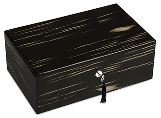 Diamond Crown The Mozart Ebony & Ivory Cigar Humidor