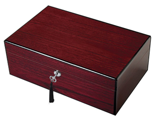 Diamond Crown The Oxford Brazilian Rosewood Cigar Humidor