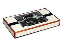 Diamond Crown St. James Series The Peabody Cigar Ashtray - Accommodates 2 Cigars