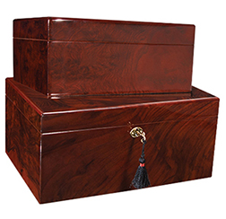 View our Beautiful Selection of Craftsman's Bench, Diamond Crown and Savoy Cigar Humidors