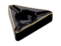 Trident Ceramic Cigar Ashtray by Craftsman's Bench  - Accommodates 3 Cigars