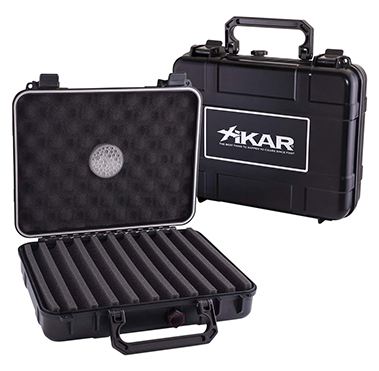 XIKAR 20-Cigar Travel Humidor