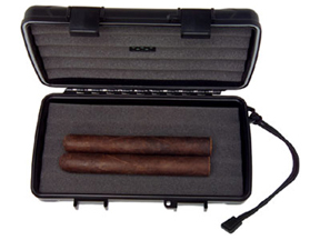 Milan 5-Cigar Travel Humidor by XIKAR