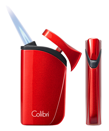Colibri Falcon Cigar Lighter Flame and Side View