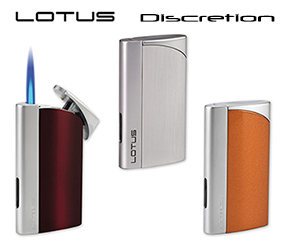 Lotus Discretion Cigar Lighters Now Available Here!