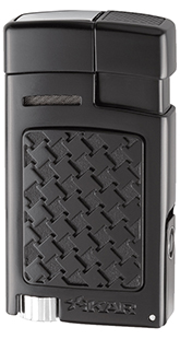 XIKAR Forte Soft Flame Cigar Lighter in Black Finish