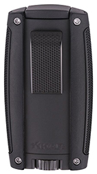 XIKAR Turismo Double Jet Flame Cigar Lighter in Matte Black Finish