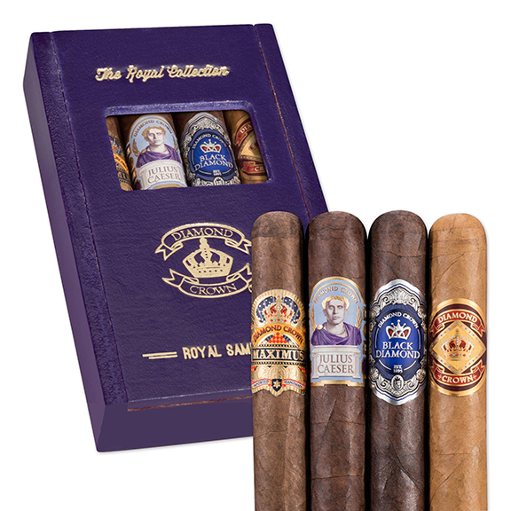 Diamond Crown 4-Cigar Royal Sampler for 2018