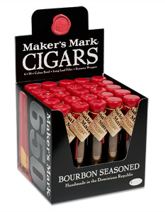 Makers Mark Bourbon Seasoned 6 x 50 Cigars