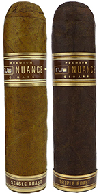 Nub Nuance (formerly Cafe) Single Roast and Triple Roast Cigars