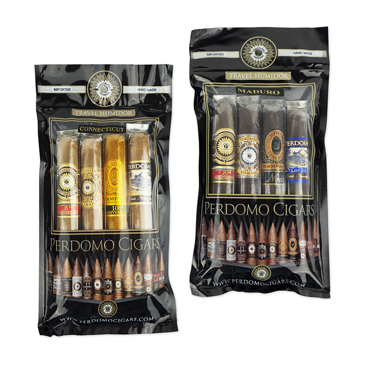 Perdomo Cigars Connecticut & Maduro 4-Cigar Samplers
