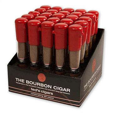 The Bourbon Cigar by Ted's (formerly Makers Mark Cigars) Bourbon-Seasoned Cigars