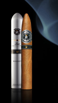 Zino Platinum Crown Cigars - Barrel, Double Grande, Chubby Especial, and Rocket (Shown)