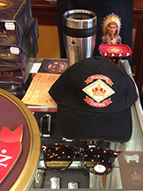 Ball cap, shades, thermal mug and more were in the box purchase goodie bags!