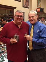 Jack won a hammer finish stainless steel flask to take his adult beverage to the next cigar herf!