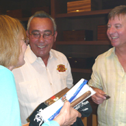 Don Pepin and David Chat with Longtime Customer Debbi