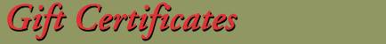 Milan Tobacconists offers gift certificates for that special cigar or pipe smoker.