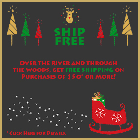 Enjoy Free Shipping on Orders of $50 or More Through December 31st!