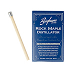 Brigham Rock Maple Distillator, Box of 8