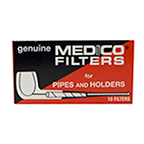 Medico Filters - 2 1/4 Inches, Box of 10 Filters