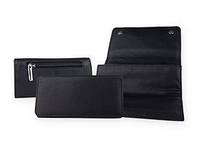La Rocca Leather Combination Tobacco Pouch/Pipe Carrier