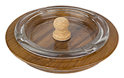 View Our Assortment of Glass and Wood Tobacco Jars and Pipe Ashtrays