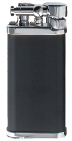 IM Corona Old Boy 1188 Black/Chromium Pipe Lighter