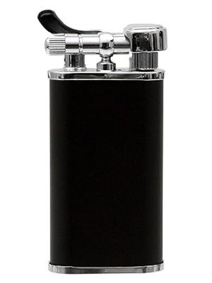 Kiribi Kabuto Pipe Lighter - Black Matte
