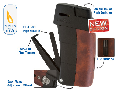 XIKAR Resource II Pipe Lighter Features