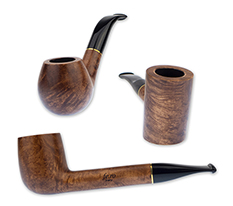 Fe.Ro Honey Walnut EX Briar Pipes