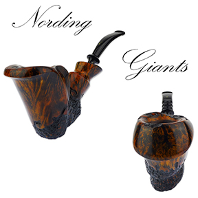 Erik Nording Giant Freehand Pipes are Back In Stock!