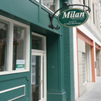 Milan Tobacconists' Storefront